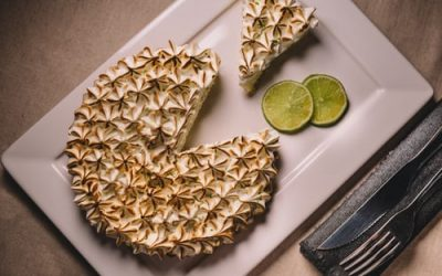 What are the steps to cook a lemon pie ?